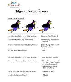 youtube halloween rhymes