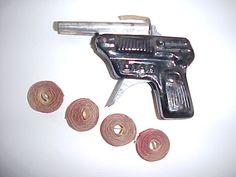 cap gun with rolls of caps