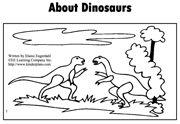 Dinosaur Sight Word Emergent Reader - describes the different dinosaurs.