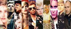 80's stars ♥ - 80s-music