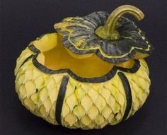 Fruit Carving - Vegetable Carving - fruit and vegetable sculptures 3