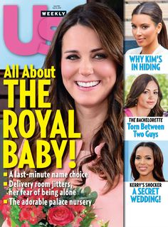 US Weekly Magazine cover, 2013 issue featuring The Royal Baby cover story. To contact TWX Magazine Customer Service by phone about your US Weekly (USWEEKLY) magazine subscription: 1- (877) 463-3032