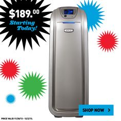 Lowe's Black Friday prices are now available online! Find this air purifier and many other great deals at Lowe's.