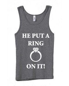 He Put a Ring on it by SomethingBlueDesigns on Etsy, $20.95
