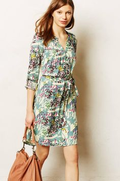 Anthropologie colourful dress
