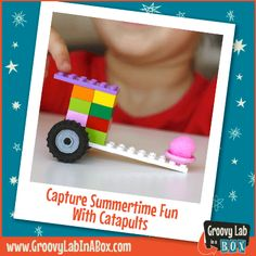 Capture Summertime Fun with Catapults #STEM #parenting #catapults