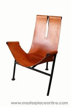 Max Gottschalk - Leather T-Back Sling Chair - Masterpiece Online