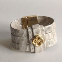 Mack & Jane Artisan Leather Cuff