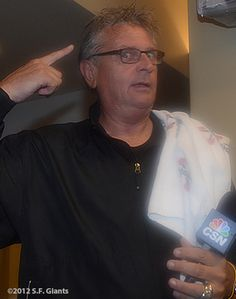 Duane Kuiper #SFGiants Win The West – Clubhouse Celebration « SF Giants Photos
