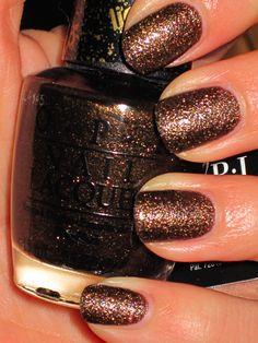fall nail colors, opi shellac nails, nail polish, fall nails, nail designs, new nails, glitter nails, beauty art, fall color