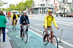 Bikes Account for 76% of Market St Trips on Bike to Work Day!