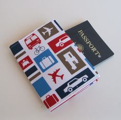 Passport Cover Cases produced by BaffinBags via Etsy. Protect your passport with this fun, travel-inspired cover (available in multiple colors and patterns). These come in super handy when you are digging for your passport in your bag or luggage! Also, if you are traveling with family members and each has their own cover, you can easily distinguishing one passport from another. #travel #gift #passport