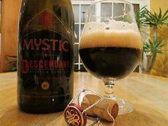 Descendant Dark Ale by Mystic Brewery in Chelsea MA