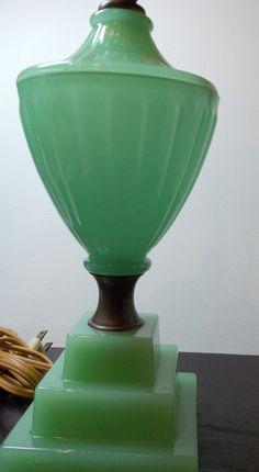 Jadeite Vintage Lamp.