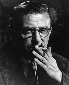 Philippe Halsman 1951. French writer and philosopher Jean-Paul SARTRE.