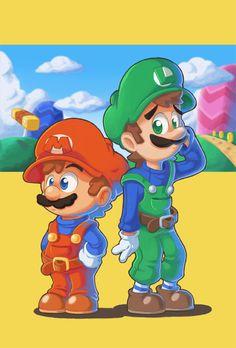 Super Mario Bros. by Air-City.deviantart.com