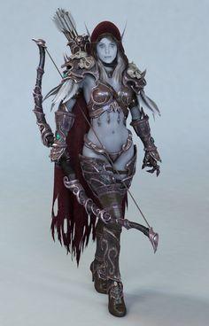 sylvanas - world of warcraft