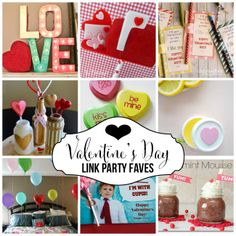 Favorite Valentine's Day Link Party ideas