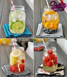 fruit drink, summer drinks, flavored waters, infused waters, fruit infused water, fruit water, coconut water, mason jars, water recipes