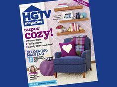 Inside the New October 2014 Issue of HGTV Magazine (http://blog.hgtv.com/design/2014/09/05/get-cozy-with-the-october-issue-of-hgtv-magazine/?soc=pinterest)
