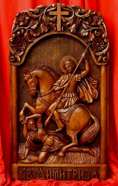 Art Icon of St. Demetrius