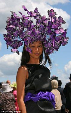 Butterfly hat, Ascot