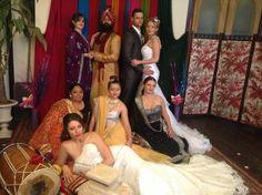 Bollywood/Winter wonderland themed wedding styled by Trishia Petrie (Glamour Icons)