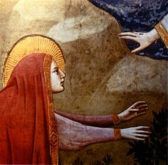 Noli Me Tangere (detail), by Giotto