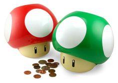 Super Mario Mushroom Money Box