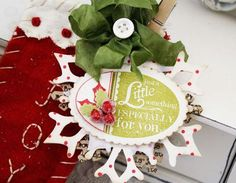A Little Something Gift Tag by Melissa Phillips for Papertrey Ink (October 2013)