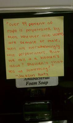 rape, feminism, masculinity
