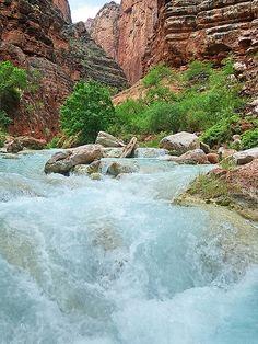 Havasu Creek, Grand Canyon National Park.  Photo:  Al_HikesAZ, via Flickr