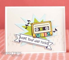 Use icons to tie in with your card's sentiment for a fun design; Heather Campbell - Paper Crafts & Scrapbooking Card Creations, Vol. 12