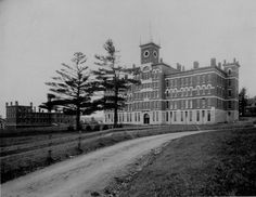 Jonas Clark Hall in 1895.