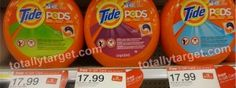 Target: GREAT deal on Tide PODS with Coupon Stack, Gift Card Promo, & Mail-In-Rebate!