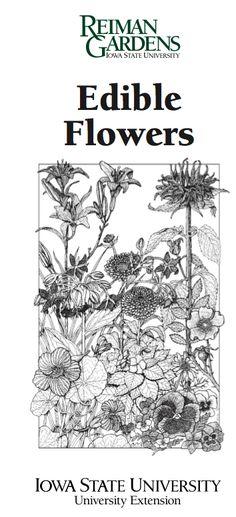 Edible Flowers pdf!