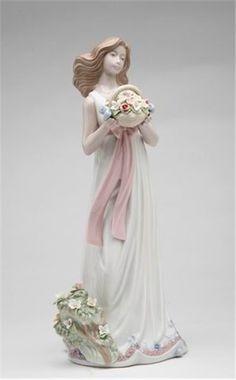 Spring Moment Lady - Nadal Porcelain Figurine