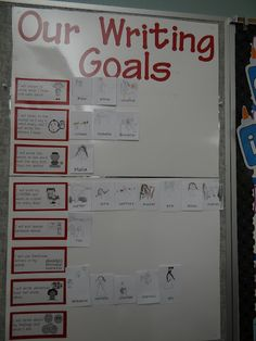 writing workshop goals