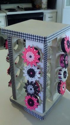 Cute classroom organization | Spice rack converted for classroom use for paperclips, thumbtacks ...