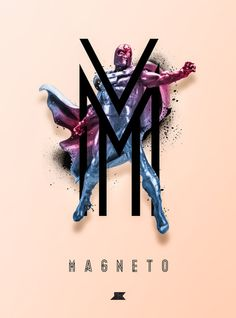 Heroes and Villains Series 2: Magneto Art Print