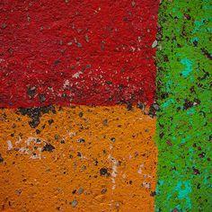 paint on asphalt