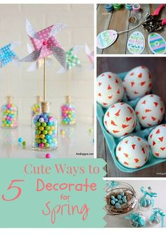 5 Cute Ways to Decor
