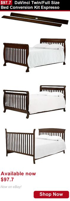 Twinfull Size Bed Conversion Kit Espresso Buy It Now Only