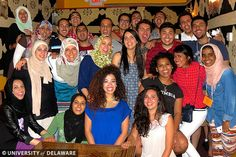 UD hosts students from the Middle East and North Africa as part of their six week Middle East Partnership Initiative