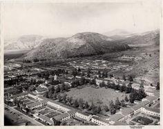 Aerial view of CAM, 1950 circa
