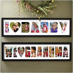 Collage Personalized Frame