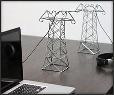 'Power Lines' cables organizer :)