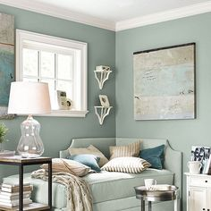 Very relaxing color scheme.