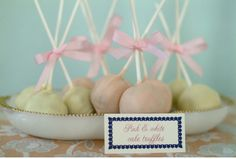 Vintage sweets make good party favours.