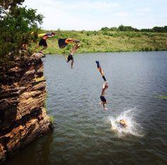 Summer fun in the Ozarks
